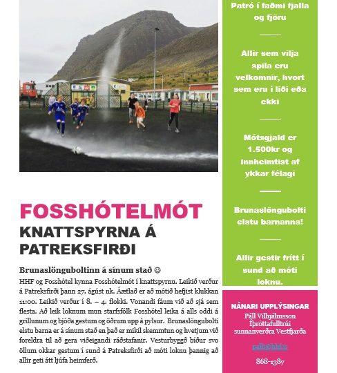 Fosshótelmót – Knattspyrnumót á Patreksfirði